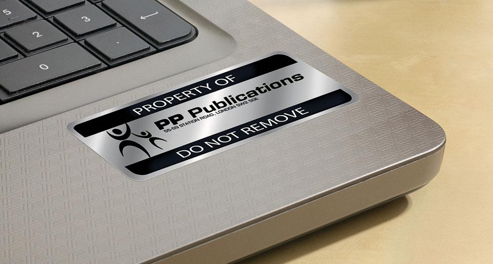 Etiketter til IT-udstyr