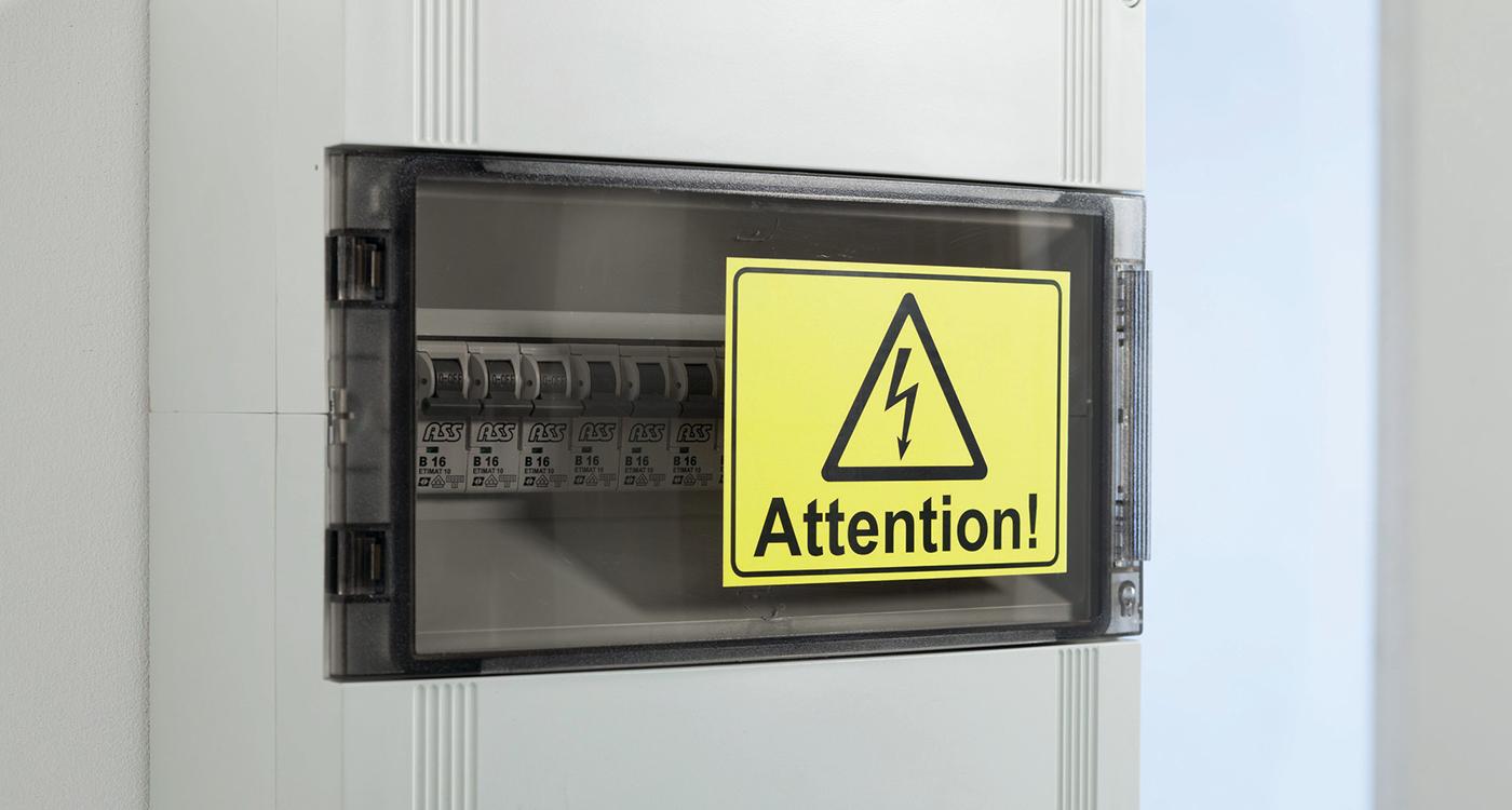 Etiketter til advarsel