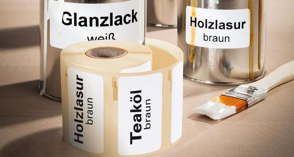 Industri- og udendørsetiketter til etiketprinter