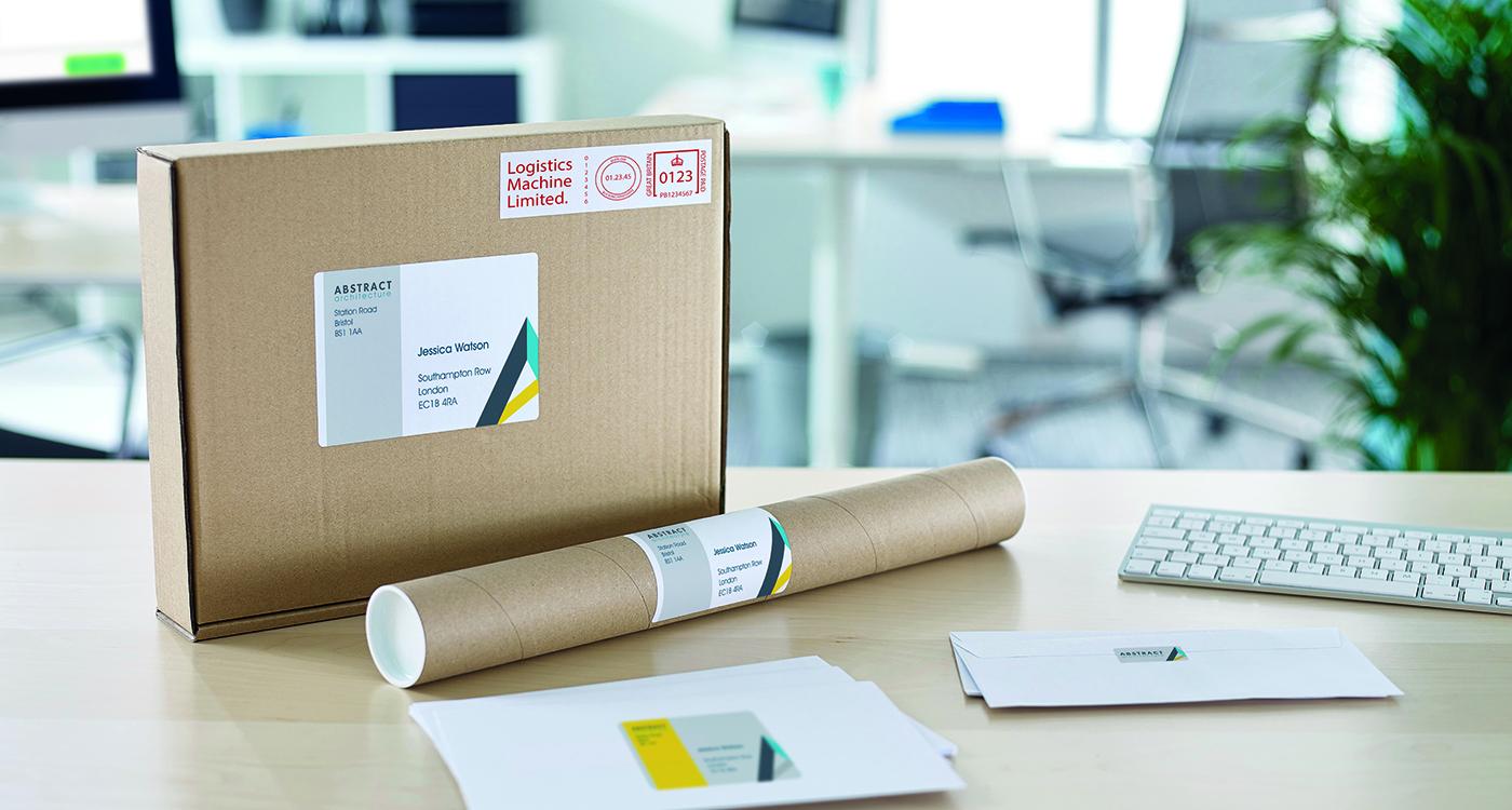 Etiketter til fragt og shipping