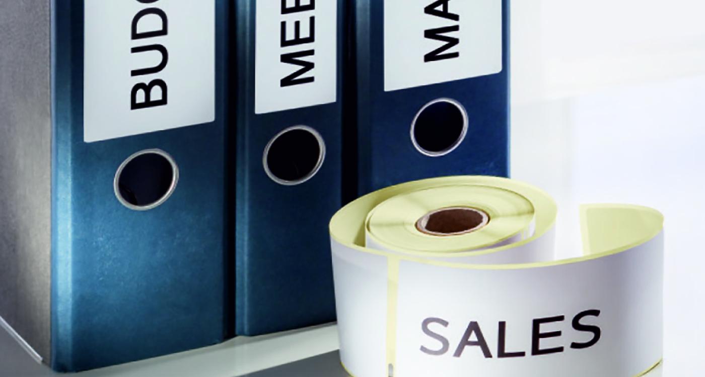 Arkiverings- og organiseringsetiketter til etiketprinter