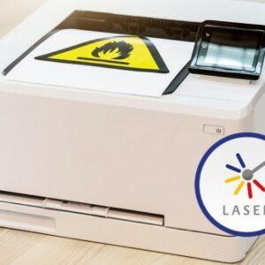 Etiketter til laserprinter